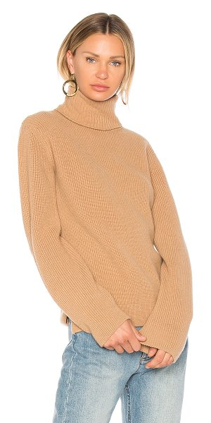 A.P.C. Milou Sweater in brown - 70% wool 30% cashmere. Dry clean only. Rib knit fabric....