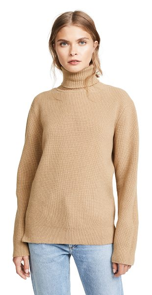 A.P.C. milou sweater in camel - A camel-tone A.P.C. sweater with a lightweight, soft...