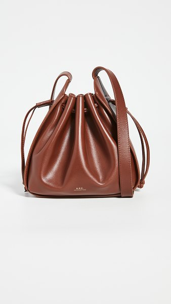 A.P.C. sac courtney small in noisette