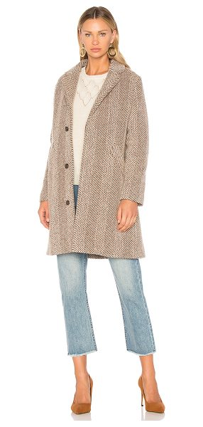 A.P.C. Silvana Coat - 51% virgin wool 37% wool 10% poly 2% acrylic. Dry clean...