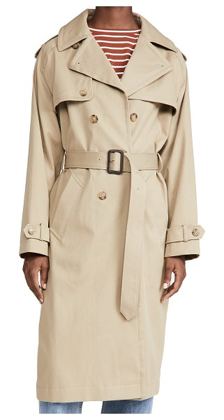 A.P.C. simone trench in beige