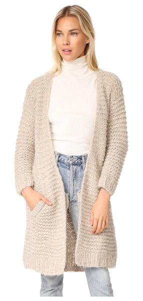 APIECE APART nepenthe long cardi - This cozy Apiece Apart cardigan is composed of soft,...