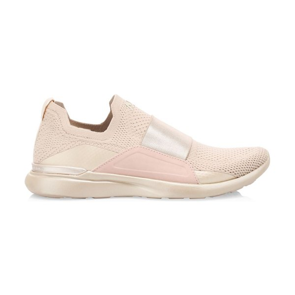 APL: Athletic Propulsion Labs techloom bliss sneakers in champagne