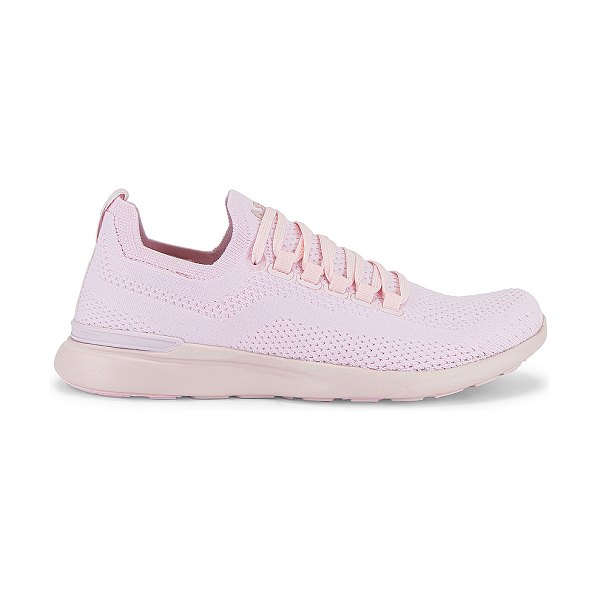 APL: Athletic Propulsion Labs techloom breeze sneaker in pink linen