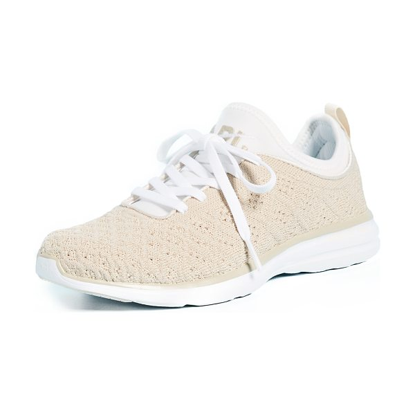 APL: ATHLETIC PROPULSION LABS techloom phantom sneakers - Raised stitch patterns bring unique dimension to these...