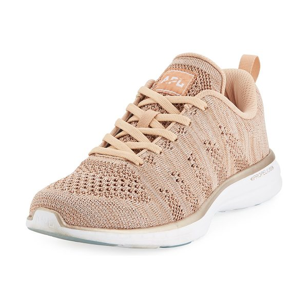 "APL: ATHLETIC PROPULSION LABS Techloom Pro Knit Mesh Sneakers - APL: Athletic Propulsion Labs ""Techloom Pro"" knit mesh..."