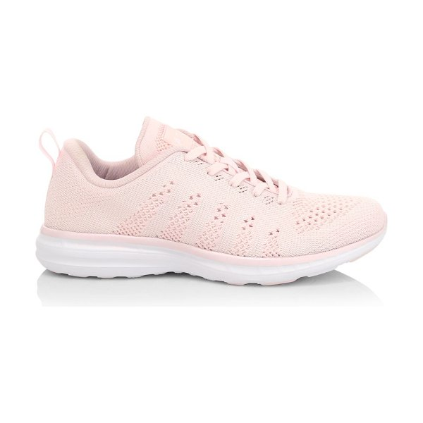 APL: Athletic Propulsion Labs techloom pro sneakers in pink