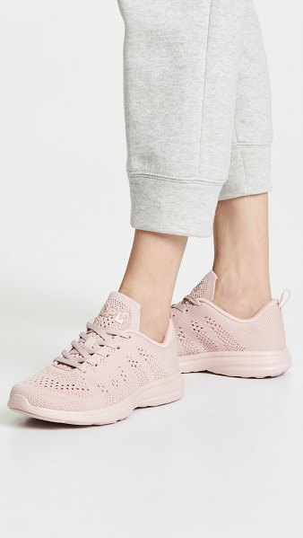 APL: Athletic Propulsion Labs techloom pro sneakers in dusty rose