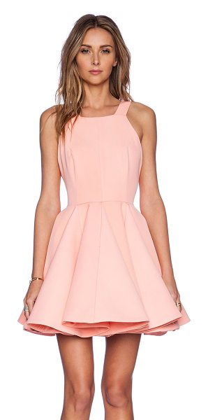 AQ/AQ Heger mini dress in pink - Poly blend. Fully lined. Hidden back zipper closure....