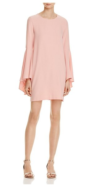 AQUA Bell Sleeve A-Line Dress - 100% Exclusive in blush - Aqua Bell Sleeve A-Line Dress - 100% Exclusive-Women