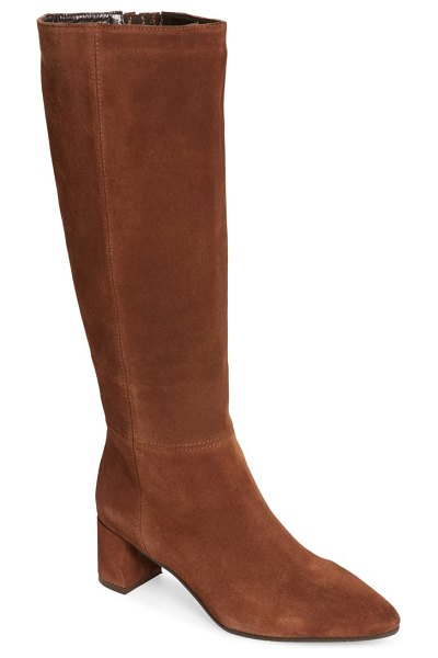 Aquatalia karen weatherproof tall boot in brown