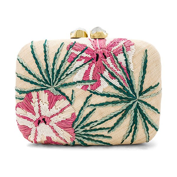 Aranaz Maui Clutch in pink