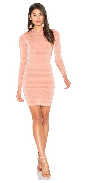 ARC Moss Dress in coral - Self: 80% rayon 20% spandexLining: 100% rayon. Dry clean...