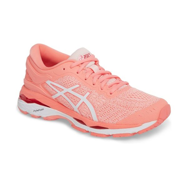 ASICS asics gel-kayano 24 running shoe in seashell pink/ white/ pink - Next-level comfort and stability come together in a...