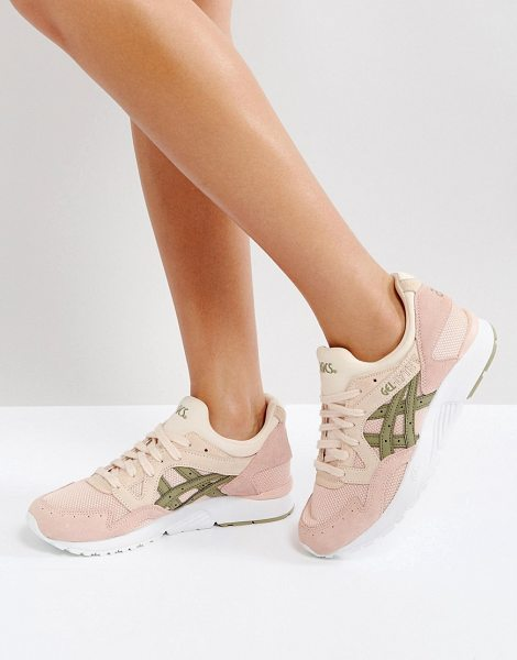 ASICS Gel-Lyte V Sneakers In Pink in pink - Sneakers by Asics, Textile upper, Breathable design,...