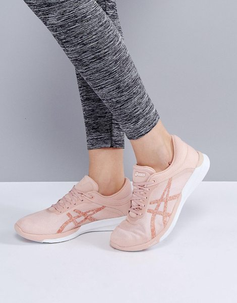ASICS Running Fuze X Rush Sneakers In Pale Pink in pink