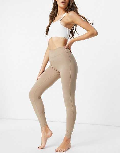 Asos 4505 icon legging in cotton touch-pink in pink
