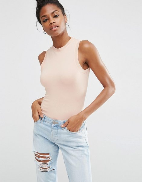 ASOS Body With Wrap Back - Body by ASOS Collection, Stretch jersey, Crew neckline,...