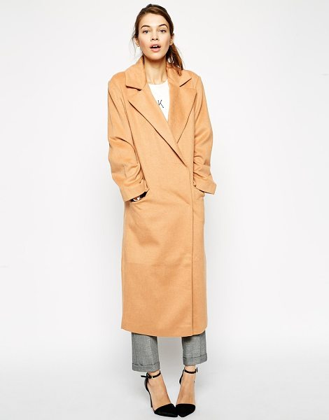 ASOS Coat in oversized fit - Coat by ASOS Collection Lightweight woven fabric...