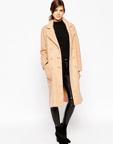 ASOS Coat - Oversized coat by ASOS Collection, Mid-weight wool-mix...