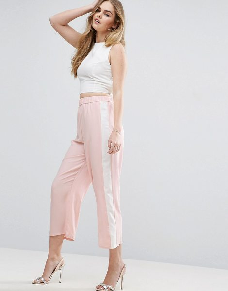 "Asos Color Block Wide Leg Pants in pink - """"Pants by ASOS Collection, Lightweight woven fabric,..."