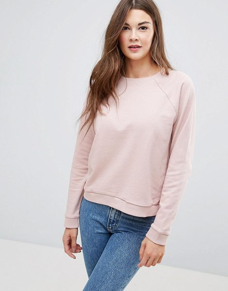 "Asos Cute Sweatshirt in pink - """"Sweatshirt by ASOS Collection, Soft-touch sweat..."