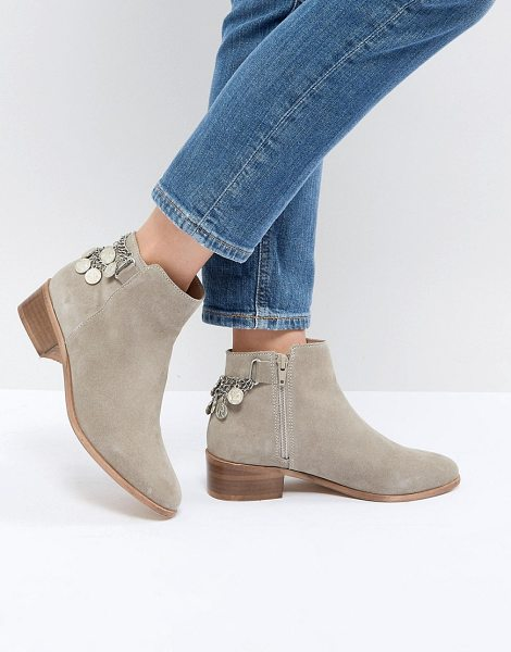 ASOS DESIGN amaze suede ankle boots in sandsuede - Boots by ASOS DESIGN, Sweet looks from the ground up,...