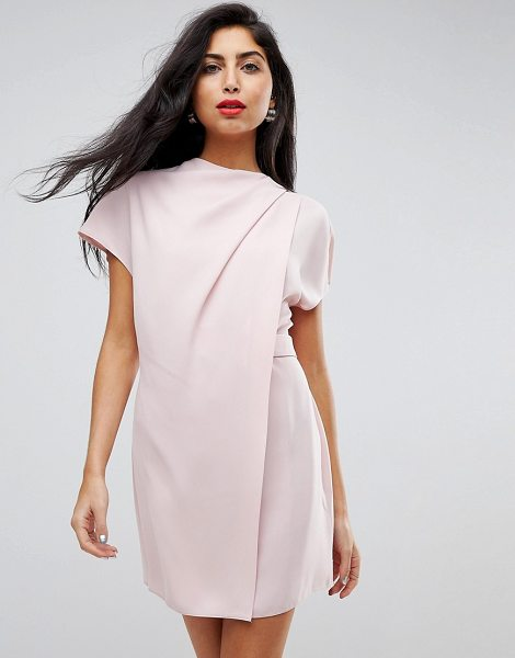 ASOS Drape Front Tab Side Mini Dress - Dress by ASOS Collection, Seriously, this is one nice...