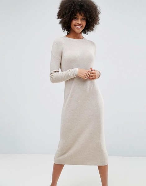 "ASOS ECO Knitted Dress In Super Soft Yarn - """"Dress by ASOS Collection, Wool-mix knit, Made with..."