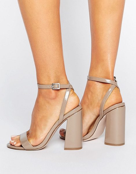 "ASOS HAMPSTEAD High Heels - """"Heels by ASOS Collection, High-shine faux-leather..."