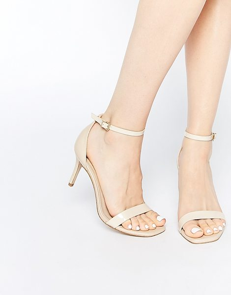 ASOS HEYDAY Heeled Sandals - Heels by ASOS Collection, Leather-look upper, Pin-buckle...