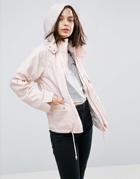"Asos Hooded Summer Jacket in pink - """"Jacket by ASOS Collection, Midweight lightly textured..."