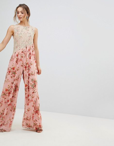 ASOS DESIGN asos jumpsuit in pink - Jumpsuit by ASOS Collection, Plunge neck, Take a dive,...