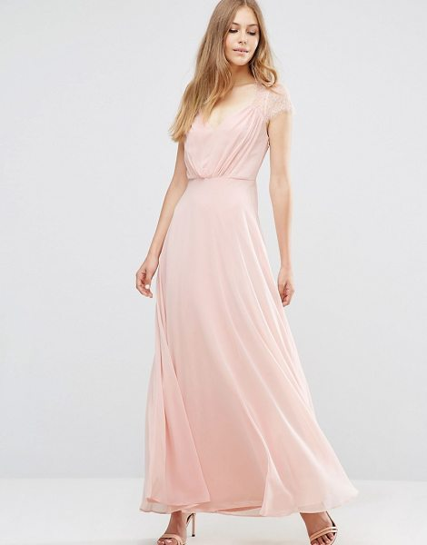 ASOS Kate Lace Maxi Dress - Maxi dress by ASOS Collection, Woven chiffon, Fully...