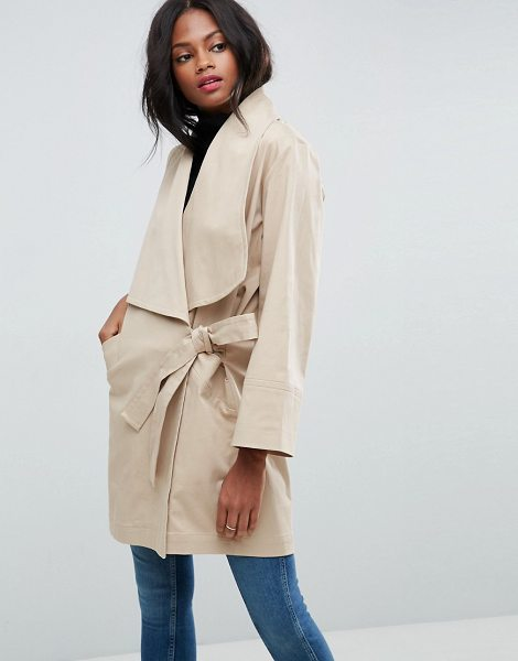 "ASOS Kimono Trench - """"Trench by ASOS Collection, Woven cotton, Added stretch..."