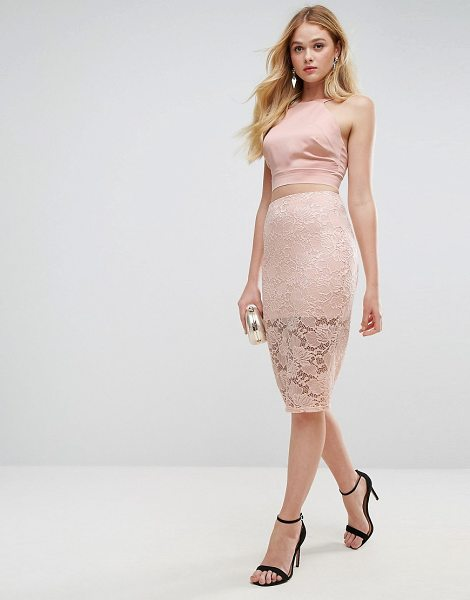 """ASOS Lace Pencil Skirt - """"""""Pencil skirt by ASOS Collection, Sheer stretch lace,..."""