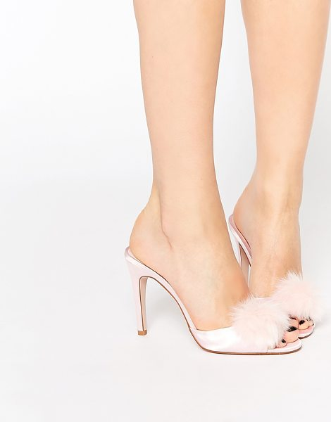 ASOS Nooky sexy heeled slippers - Heels by ASOS Collection Smooth, silky-feel upper...