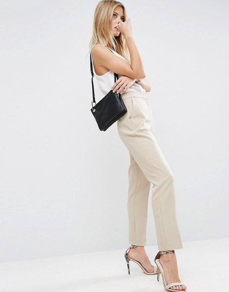 "Asos Premium Clean Tailored Pants in stone - """"Pants by ASOS Collection, Textured woven fabric,..."
