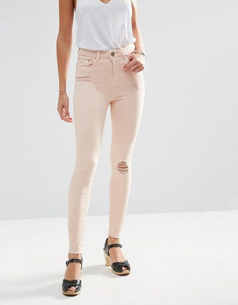 """Asos asos ridley skinny jeans in petalpink - """"""""Ridley ultra skinny jeans by ASOS Collection, Super..."""