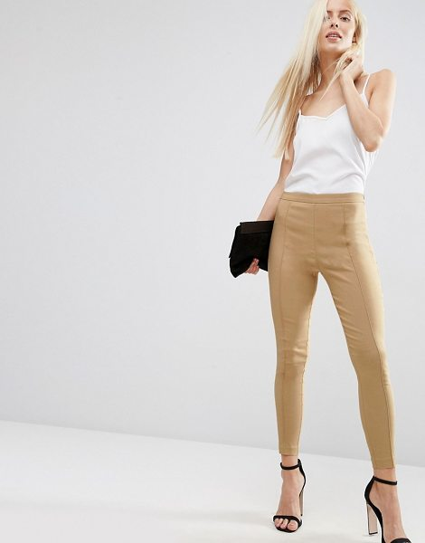 Asos Skinny Crop Pants in beige - Pants by ASOS Collection, Stretch woven fabric,...