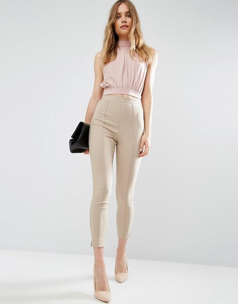 ASOS Skinny Crop Pants - Pants by ASOS Collection, Stretch woven fabric,...