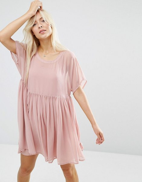 "ASOS Smock Dress - """"Dress by ASOS Collection, Semi-sheer woven fabric,..."
