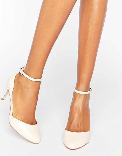 ASOS SWALLOW Heels in nude - Heels by ASOS Collection, Faux-leather upper,...