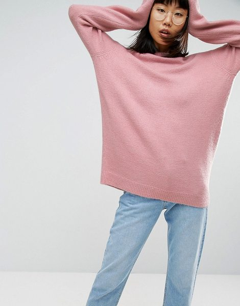 "ASOS Sweater In Oversized With Crew Neck - """"Sweater by ASOS Collection, Soft-touch knit, Crew..."
