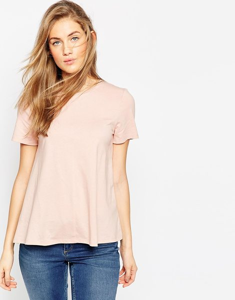 ASOS Swing T-Shirt - T-shirt by ASOS Collection, Soft-touch jersey, Round...