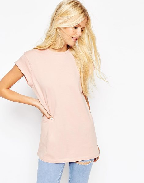 Asos The ultimate easy t-shirt in nude - T-shirt by ASOS Collection Lightweight jersey Crew...