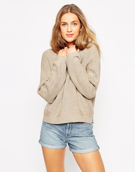 Asos Ultimate chunky sweater in oatmeal - Sweater by ASOS Collection Chunky knit Crew neckline...
