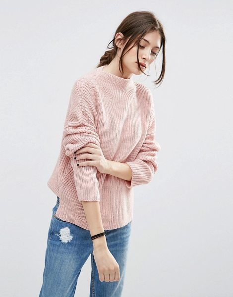 ASOS Ultimate Chunky Sweater with High Neck - Sweater by ASOS Collection, Lightweight chunky knit,...