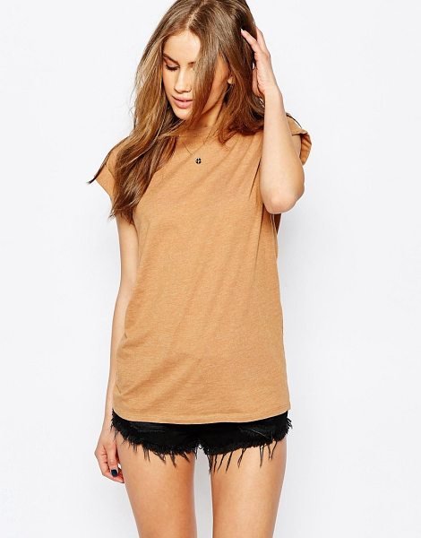 Asos Ultimate Easy T-Shirt in tan - T-shirt by ASOS Collection, Cotton-mix jersey, Crew...