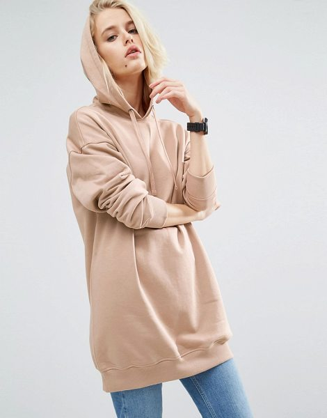 ASOS Ultimate Oversized Pullover Hoodie - Hoodie by ASOS Collection, Fleece-back sweat, Drawstring...